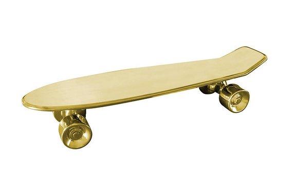 SELETTI MY SKATEBOARD GOLD