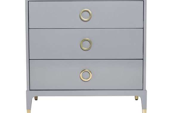 SPY CHEST IN COOL GREY LACQUER