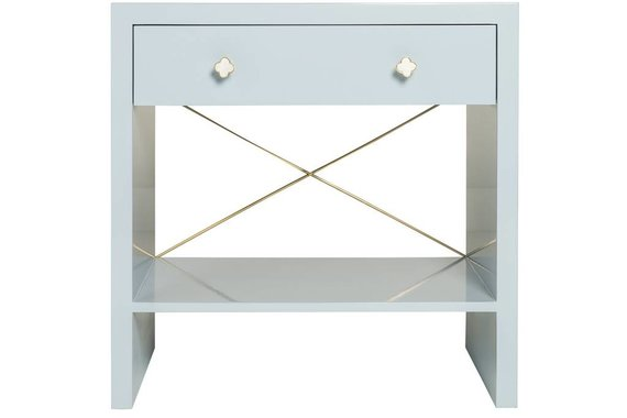 FICKLE 500 CHEST IN PALE BLUE