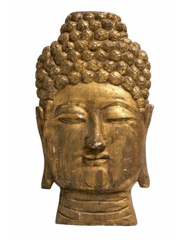 OVERSIZED BUDDHA WALL SCULPTURE