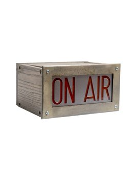 VINTAGE 'ON AIR' BOX SIGN