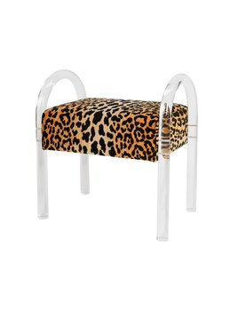 GIBBS BENCH IN LEOPARD