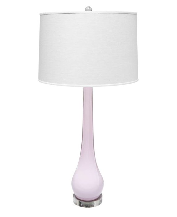 HAMPTON LAMP IN PALE PINK