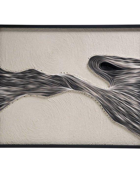 FRAMED ROPE ART BY JEN LIN
