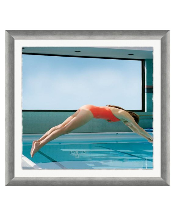 "VOGUE MAGAZINE, ""DIVING"", MATT JONES, MAY 2007"