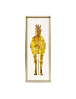 FRAMED HORSE ARTWORK - JOHN