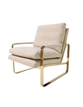 ADAIR CHAIR IN OATMEAL LINEN