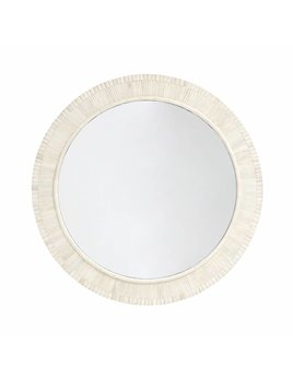 CIRCULAR BONE INLAY MIRROR - SAMPLE