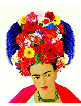 FRIDA HEADDRESS