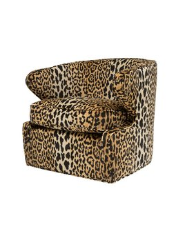 ROMP CHAIR IN LEOPARD
