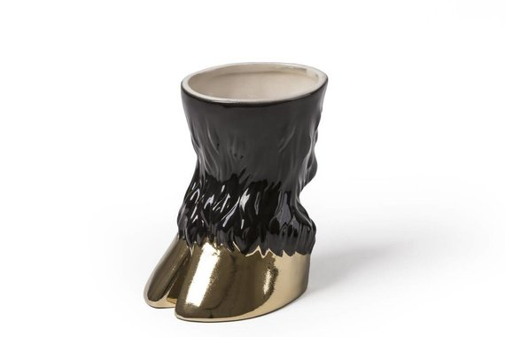PARTY ANIMAL BULL CHALICE BY SELETTI