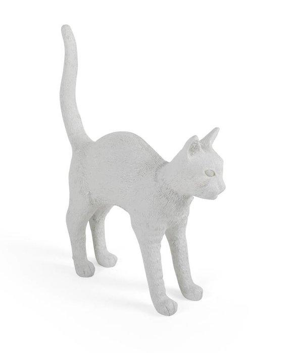 CAT LAMP JOBBY - WHITE BY SELETTI