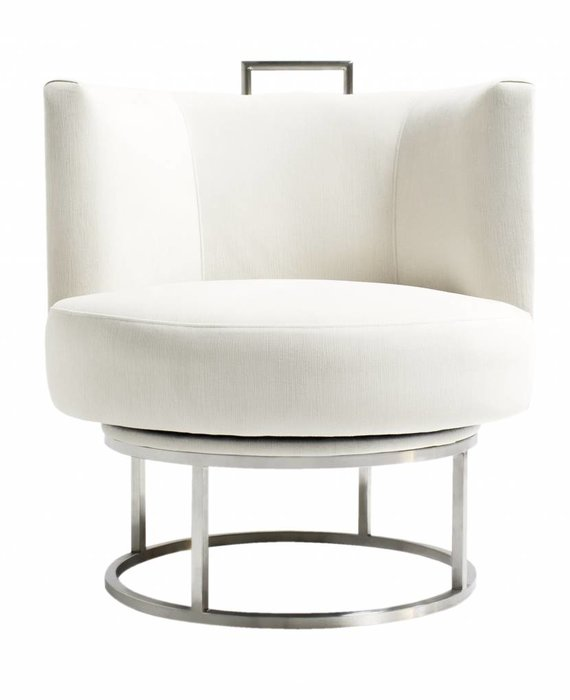 GUNTER SWIVEL CHAIR IN CHROME