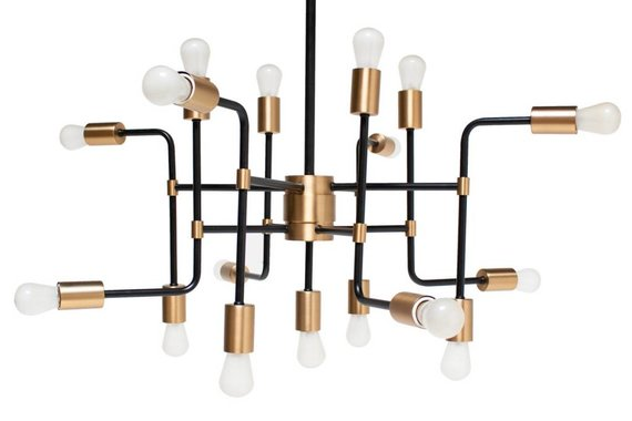 17-Light Sputnik Chandelier
