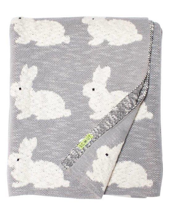 SCOUT LABEL ROBERTA RABBIT BLANKET