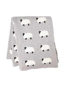 SCOUT LABEL SHEEP BLANKET