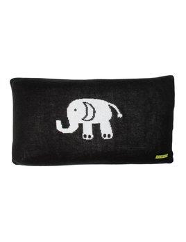 SCOUT LABEL ELEPHANT LUMBAR DOWN PILLOW 11x20