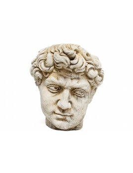 Roman Head Planter - Seneca