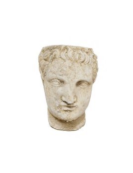 Roman Head Planter - Rufus