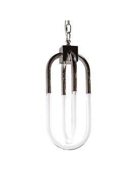 SMALL AMHERST PENDANT IN POLISHED NICKEL - FLOOR MODEL