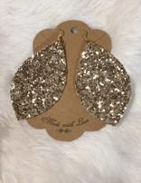 Glitter Teardrop, Large, FR