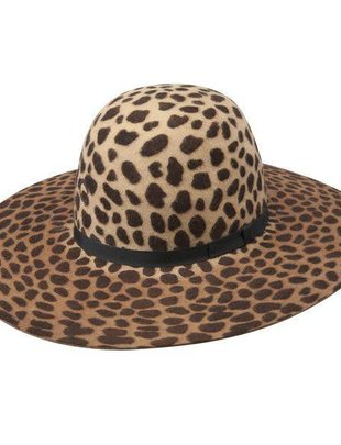 Charlie 1 Horse Leopard Jezebel Felt Hat