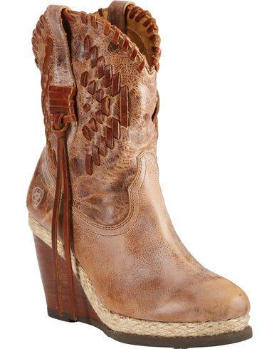 Ladies Ariat Opry Wedge Boot