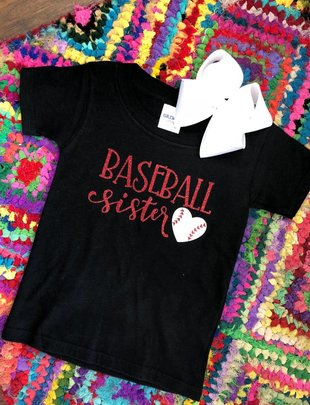 Back Road Beauties Baseball Sister Tee