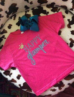 Back Road Beauties Happy Glamper Girls Tee