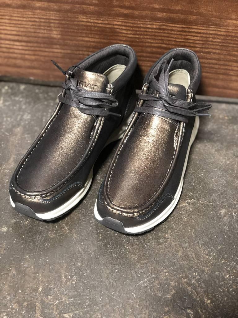Ladies Metallic Bronze Spitfire Shoe