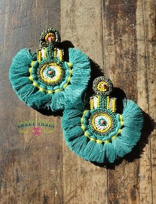 Crazy Train Miss Mermaid Earrings