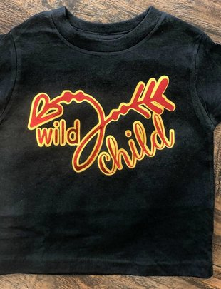 Back Road Beauties Kids Wild Child Tee