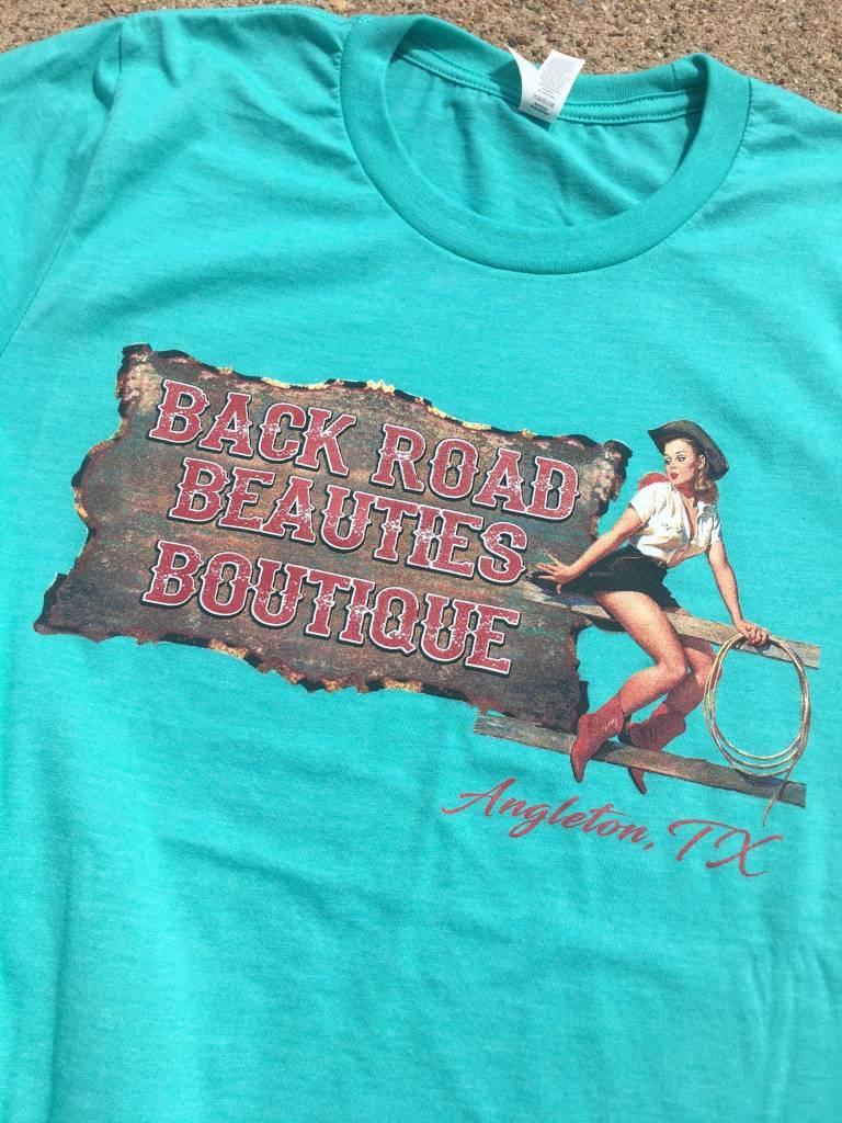 Back Road Beauties BRB Custom Logo Shirt
