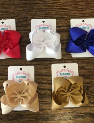 Blondie and Pearl Dazzle Boutique Bows