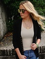 Button Snap Cardigan BLACK