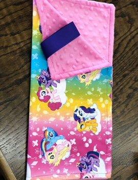 Mommy Designs Binky Blanket w/ My Little Pony & Pink Minkie