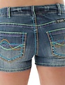 Cowgirl Tuff Ladies CT Happy Denim Shorts
