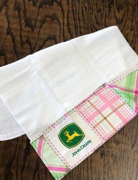 Mommy Designs John Deere Burp Pad
