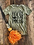 Back Road Beauties Hocus Pocus Olive Tee