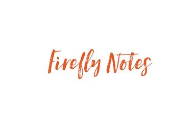 FIREFLY NOTES