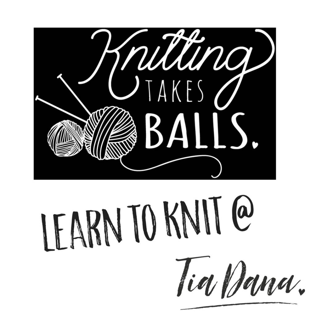 LEARN TO KNIT: THE BASICS