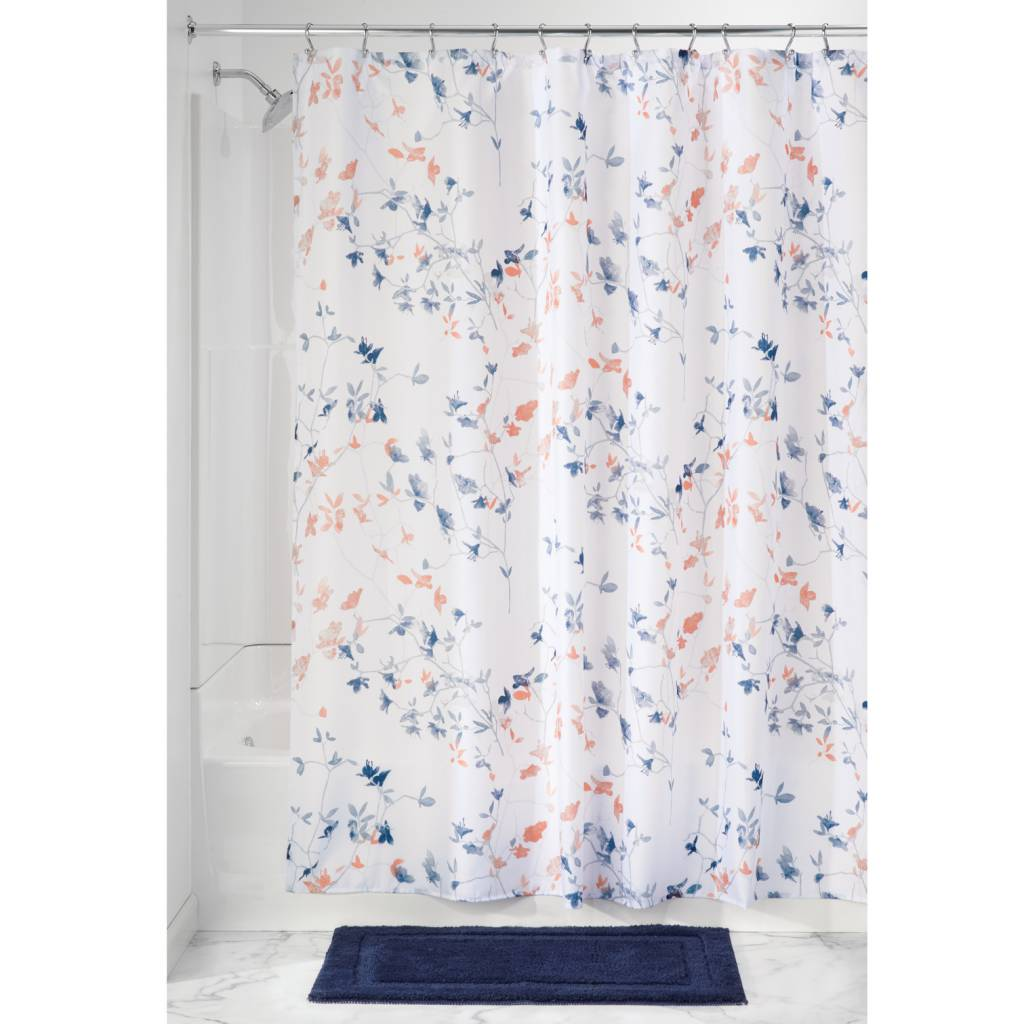 Best 25 Navy Coral Shower Curtain Custom Colors Shower