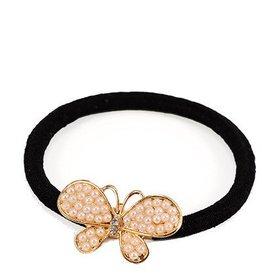 Pearl Butterfly Hair Hoop