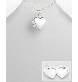 Sterling Sterling Heart Locket