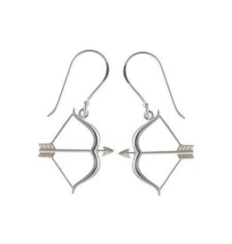 Sterling Arrow Earrings