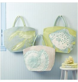 Pastel Aquatic Tote Bag