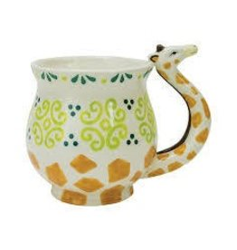 Boston Warehouse Mug-Giraffe