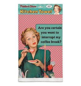 Fiddlers Elbow Coffee Break: Tea Towel