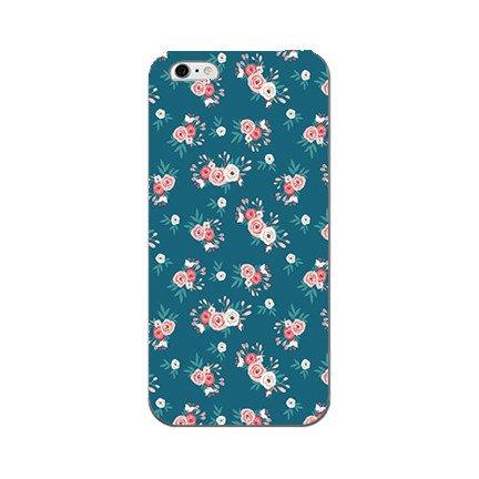 S+K Designs Blue Floral Phone Case