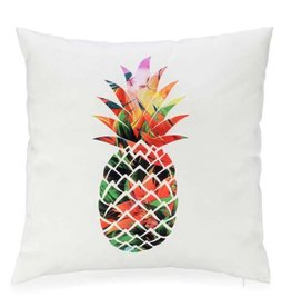 Pillow - Pineapple on White